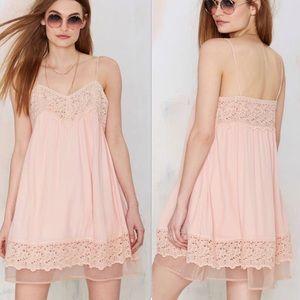 J. O. A. Sweet Emotions Lace babydoll dress sz med